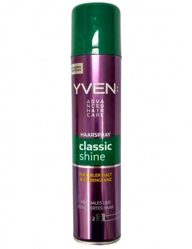 Nabłyszczający lakier do włosów Yven Classic Shine 250 ml