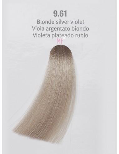 Jasno Srebrny Blond Fiolet nr 9.61